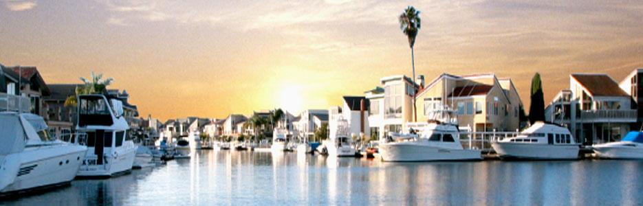 Huntington Harbour Sunset