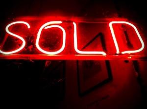 Sold Sign Huntington Beach