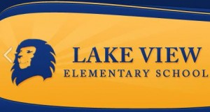 Lake View Elementary School Logo